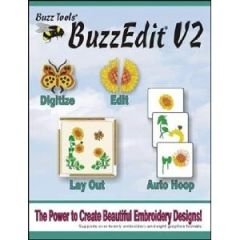 Buzz Edit Version 2 Embroidery Software