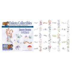 Dakota Collectibles Jazzy Jeans Embroidery Designs