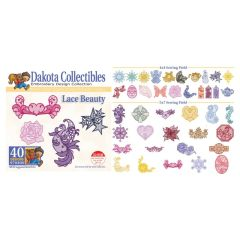 Dakota Collectibles Lace Beauty Embroidery Designs