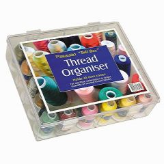 Thread Spool Organizer for 30 Embroidery Threads