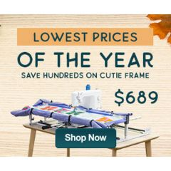 Grace Frame Cutie Table Top Quilting Frame