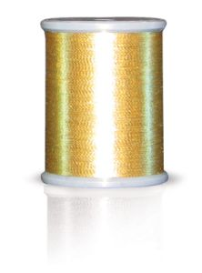 Brother MT998 Metallic Embroidery Thread Dark Gold