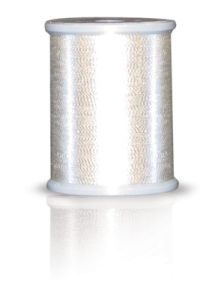 Brother MT997 Metallic Embroidery Thread Light Silver