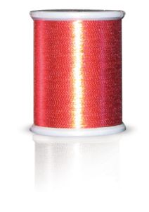 Brother MT993 Metallic Embroidery Thread Red