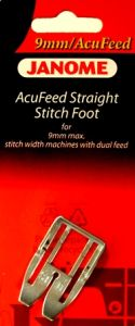 Janome Acufeed Straight Stitch Foot 9mm