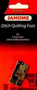 Janome Ditch Quilting Foot 9mm