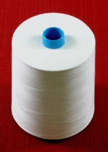 Janome White Embroidery Bobbin Thread 20,000 Meter Cone
