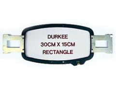 Durkee Embroidery Machine Hoop - 30cm x 15cm (12 Inch x 6 Inch) Rectangle