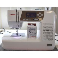 Janome 3160QDC-T Gold Computerized Sewing Machine - Recent Trade