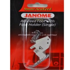 Janome Acufeed Foot with Foot Holder Single