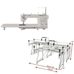 Juki TL-2000Qi Grace Q-Zone Queen Quilting Frame Combo Package