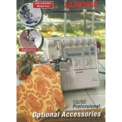 Janome 1200D Serger DVD on Optional Accessories