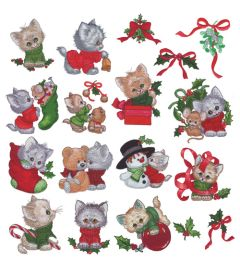 DIME Inspiration Collection Embroidery Designs #53 Morehead Kitten Knits
