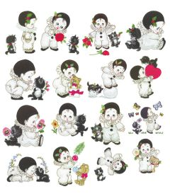 DIME Inspiration Collection Embroidery Designs #55 Morehead Lil Pierrot