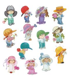 DIME Inspirations Collection Embroidery Designs #63 Morehead Undercover Kids