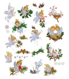 DIME Inspiration Collection Embroidery Designs #66 Morehead Winter Fairies & Angels