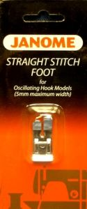Janome Straight Stitch Foot for 5mm Models