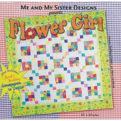 Me and My Sister Designs Flower Girl Quilting Patterns