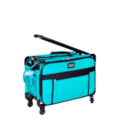 Tutto 20 Inch Sewing Machine Trolley on Wheels Turquoise