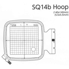 Janome Embroidery Hoop SQ14b for 400E 500E 550e