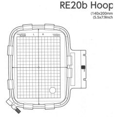 Janome Embroidery Hoop RE20B for 400e 500e 550e