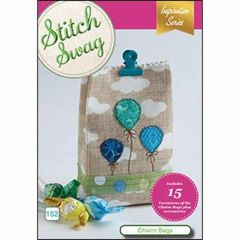 DIME Designs in Machine Embroidery #152 Stitch Swag Charm Bags