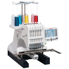 Janome MB-7 Commercial Embroidery Machine Refurbished