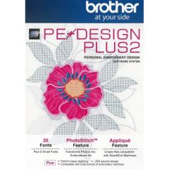 Brother PE Design Plus 2 Embroidery Design Software