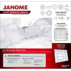 Janome Acufil Quilt Kit ASQ18b for Memory Craft 400e 500e 550e