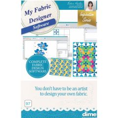 Designs in Machine Embroidery #97 My Fabric Designer