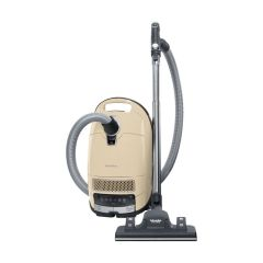 Miele Complete C3 Alize Canister Vacuum, Ivory White - Corded