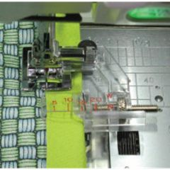 Janome Taping Guide Foot for 5mm and 7mm Models