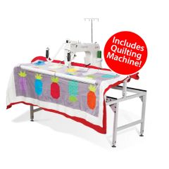 Grace Company Qnique 15R with Q-Zone Hoop Quilting Frame Combo