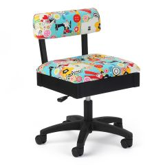 Arrow Sew Now Sew Wow Hydraulic Sewing Chair