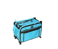 Tutto 22 Inch Sewing and Embroidery Trolley Turquoise