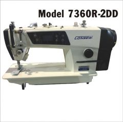 Consew 7360RR-2DD Direct Drive Commercial Sewing Machine with Stand and Servo Motor