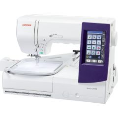 Janome Memory Craft 9850 Sewing and Embroidery Machine with Bonus Kit