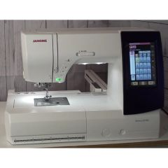 Janome Memory Craft 9850 Sewing & Embroidery Machine - Recent Trade