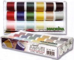 Madeira Aerofil Sewing and Quilting Thread 18 Spool Box