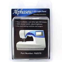 Alphasew 30 Bulb LED Light Panel for Sewing Machines and Sergers