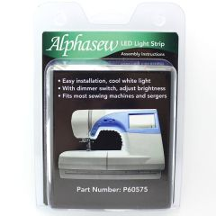 Alphasew 18-Bulb LED Light Strip Kit For Sewing Machines & Sergers