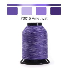 Grace Finesse Variegated Quilting Thread Amethyst #3015