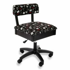 Janome Print Hydraulic Chair by Arrow H9013J