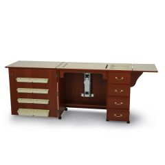 Arrow Norma Jean Sewing Machine Cabinet in Cherry