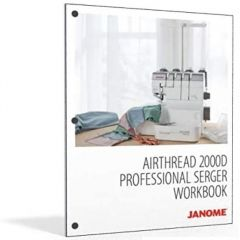 JANOME WORKBOOK FOR AT2000D SERGER