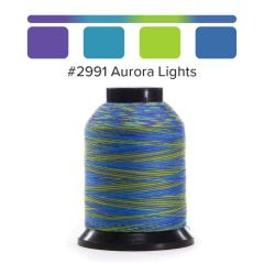 Grace Finesse Variegated Quilting Thread Aurora Lights #2991