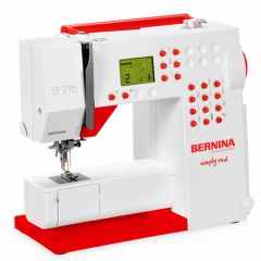 Bernina B215 Simply Red Sewing Machine Pre-Owned