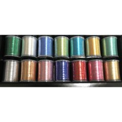 Brother 14 Spool Metallic Embroidery Thread Set MTPK14