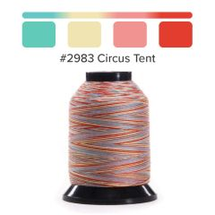 Grace Finesse Variegated Quilting Thread Circus Tent #2984