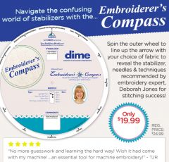 Embroiderers Compass
